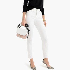 "J.Crew NWT 9"" HighRise Tooth Pick Skinny"
